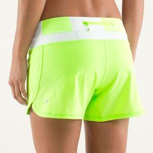 Lululemon Zippy Shorts